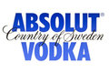 ABSOLUT VODKA Stock Image