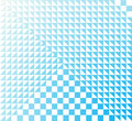Absolute purity abstract geometric background in light blue tones Stock Photo