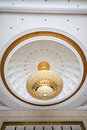 Absorb dome light on the ceiling Royalty Free Stock Photo