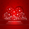 Absract background with hearts Stock Image
