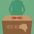 Abstain vote illustration by design eps Stock Photo