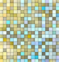 Abstract 3d backdrop in yellow blue Royalty Free Stock Images