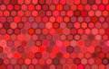Abstract 3d render backdrop in red Royalty Free Stock Images