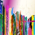 Abstract ackground with paint strokes with free space for your text Royalty Free Stock Photography