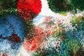 Abstract acrylic art background