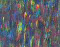 Abstract acrylic painting messy colorful stains Stock Images