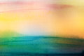 Abstract acrylic and watercolor brush strokes painted background Royalty Free Stock Photo