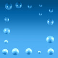 Abstract air bubbles background Royalty Free Stock Photo