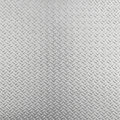 Abstract aluminum checker plate background metal Stock Photography