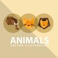 Abstract animal design illustration eps graphic Stock Photo