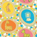 Abstract Animals Pattern SEAMLESS Stock Images