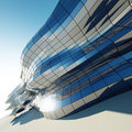Abstract architecture wall Royalty Free Stock Image