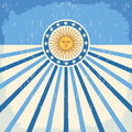 Abstract Argentina vintage card Royalty Free Stock Photo