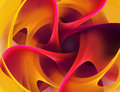 Abstract art background with bright vibrant colors Royalty Free Stock Photo