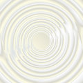 Abstract art circle composition milk texture background Royalty Free Stock Image
