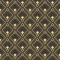Abstract art deco modern tiles pattern