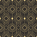 Abstract art deco seamless pattern Royalty Free Stock Photo