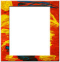 Abstract art frame