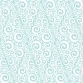 Abstract Art Nouveau lace seamless pattern.