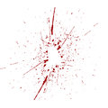 Abstract artistic paint splashes red and white. Ink splashes bac