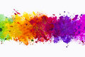 Abstract artistic watercolor splash background Royalty Free Stock Photo