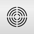Abstract Audio Speaker Royalty Free Stock Photo