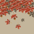 Abstract autumn vector Stock Photos