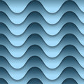 Abstract backdrop with blue waves vector Royalty Free Stock Photo