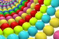 Abstract background from balls multi colored Royalty Free Stock Photo