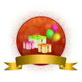 Abstract Background Birthday P...
