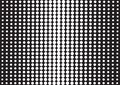 Abstract background with black dots, pop art style. Vector