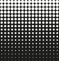 Abstract background black halftone
