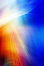 Abstract background in blue, red, orange and yellow colors Royalty Free Stock Photo