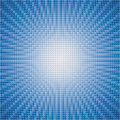 vector abstract background of blue star burst Royalty Free Stock Photo
