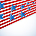 Abstract background with blue stars and red stripes Royalty Free Stock Photo