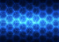 Abstract background blue technology, vector illustration Royalty Free Stock Photo