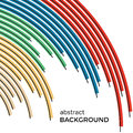 Abstract background with bright rainbow colorful lines Royalty Free Stock Photo