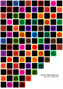 Abstract background with bright squares colorful wallpaper symmetrical Royalty Free Stock Photo