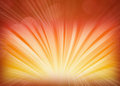 Abstract background bursts orange yellow rays energy Royalty Free Stock Image