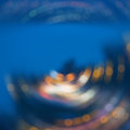 Abstract background of city night lights Royalty Free Stock Photo