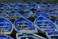 Abstract Background Collection: Bright Blue Boats