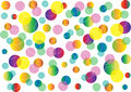 Abstract background with color circles Royalty Free Stock Photo