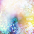 Abstract background colorful bokeh circles with colored Stock Image
