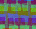 Abstract background with colorful rectangles in naive style Stock Photography
