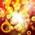 Abstract background colorful shine with bokeh Royalty Free Stock Photography