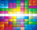 Abstract background colorful transparency mosaic Stock Image