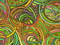 Abstract background consisting of various forms.Vector Royalty Free Stock Photo