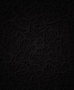 Abstract background dark with ornament Royalty Free Stock Photo
