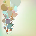 Abstract background with design elements. EPS 10 Royalty Free Stock Photos