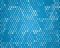 Abstract background for design squares pattern blue geometric your text illustration Royalty Free Stock Photography